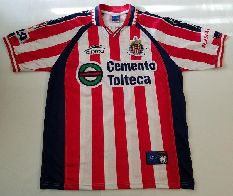 ded8d5045 Chivas De Guadalajara Soccer Futbol Mexico Vintage Atletica