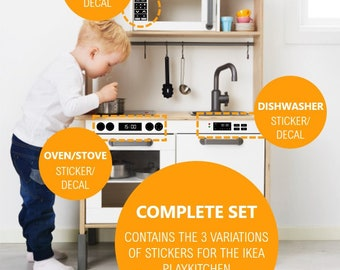 NEW Genuine IKEA DUKTIG remplacement crochets x 5 Childs Play Kitchen