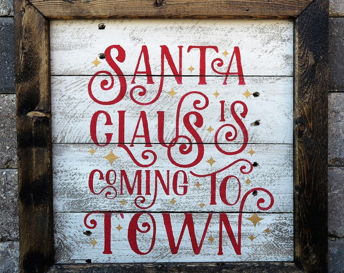 Santa Claus is coming to town (free shipping)