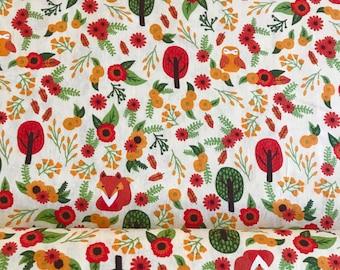 Foxy Fabric Etsy