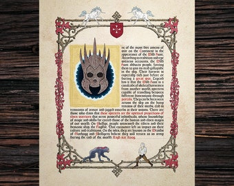 """The Witcher manuscript """"The Wild Hunt"""""""