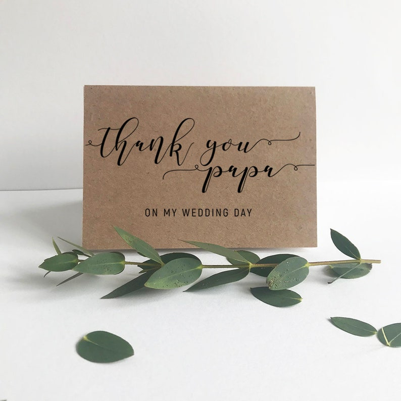 Modern Simplicity MSL101 Printable Thank you Cards Thank You to Parents Editable Card Template Set