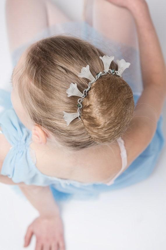 Splendido Cristallo Fiore Piccolo Multi per capelli Clip Damigella D/'onore Nuziale Capelli Accessori