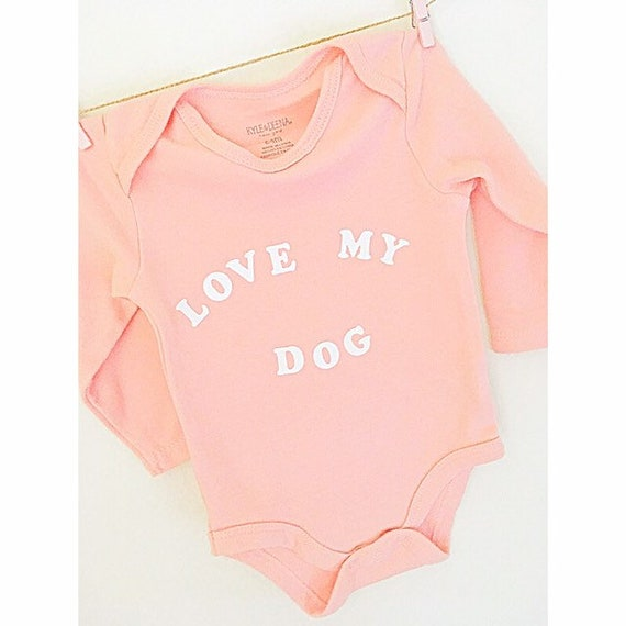 Baby Boy Jumpsuit I Love My Dachshund-1 Baby Clothes