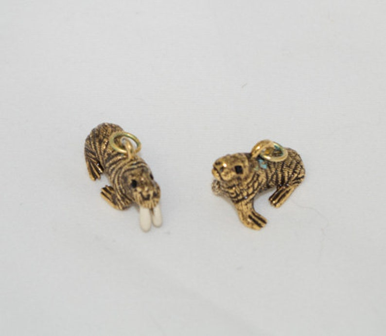 Joan Rivers Walrus Charms for a bracelet, Noah's Ark