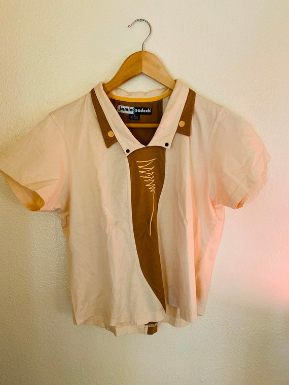 1970s Peter Pan inspired Top