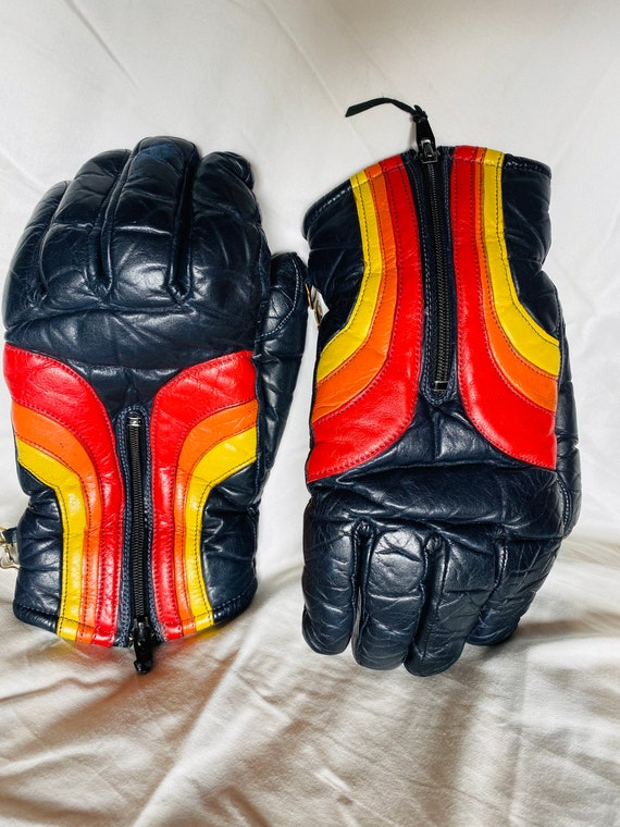Vintage 1970's Grandoe Gloves