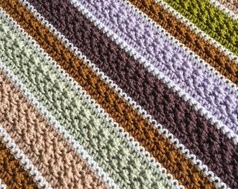 CROCHET PATTERN - Bellame Baby Blanket; Heirloom Crochet Baby Blanket Pattern; Textured Crochet Baby Blanket Pattern; Gender Neutral Baby