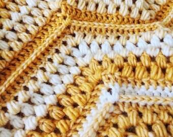CROCHET PATTERN - Chevron with a Twist Blanket   Cozy Crochet Throw Pattern   PDF Digital Download   Customizable Instructions