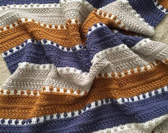 CROCHET PATTERN - For the Love of Texture Afghan. Crochet Heirloom Blanket. Crochet Stitches. Crochet Texture. Crochet Blanket Pattern.