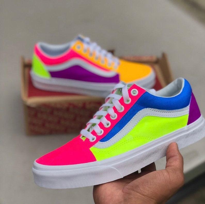 neon vans