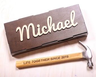 Personalized Hammer Anniversary Gift 245647646