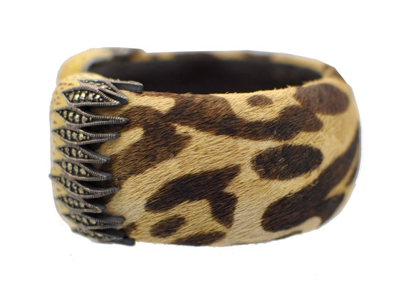 BRACELET FANTAISIE MARCASSITE Leopard Bracelet Bra