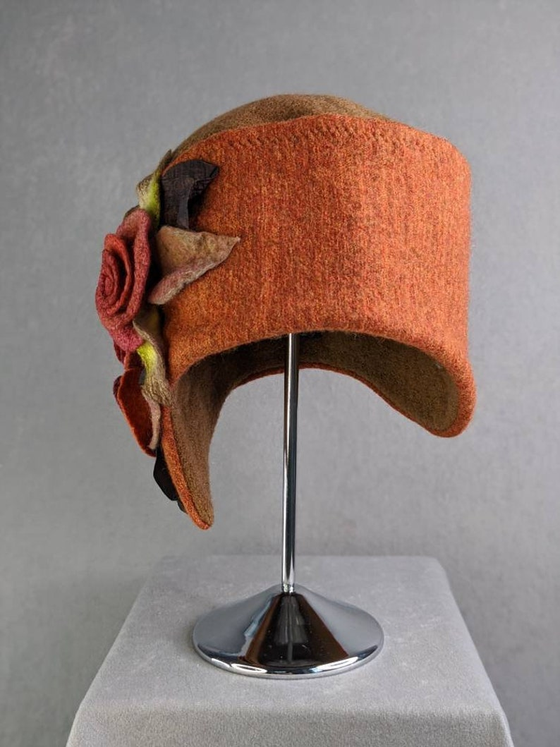 Beautiful warm tones such as orange and brown make the sunny autumn day linger with you
