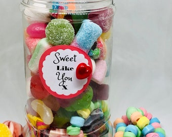 Sweets occasion gift - Gifts for him, Gifts for her. Happy birthday sweets, Well done, You passed, Congratulations, Get well soon, With Love