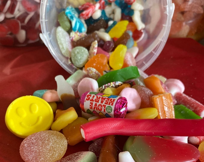 Gluten Free Sweets, Large Pick N Mix Gift, Sweetie lovers, Fizzy & Jelly Sweets, Movie Night, Pick and Mix, Family Gift, Variety Mix Up