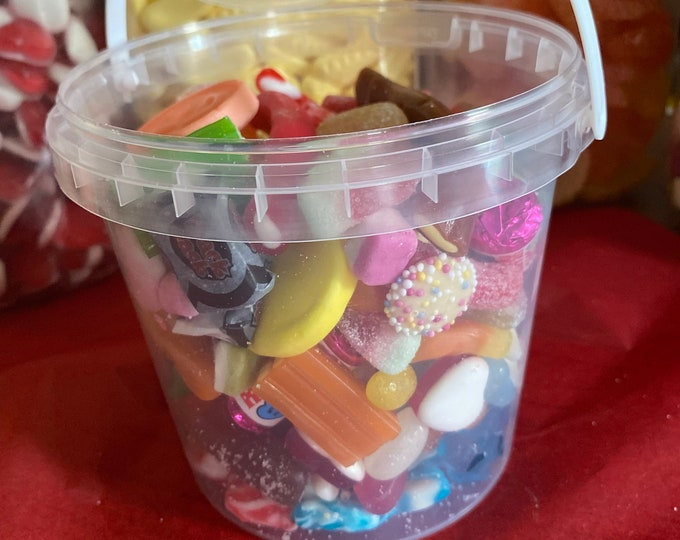 Halal Large Sweet Pick N Mix, Sweetie lovers, Fizzy & Jelly Sweets, Movie Night, Pick and Mix, Family Gift, Vegetarian, Candy Variety Mix Up