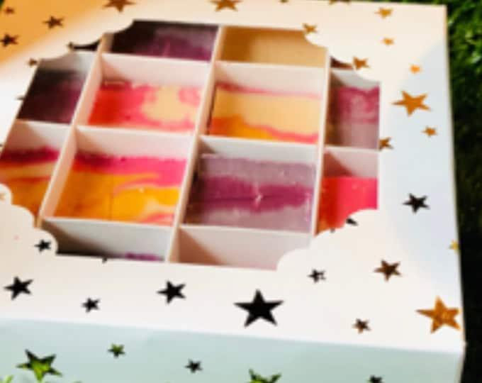 Boozy Fudge Gift Box - Handmade Gourmet Fudge - Pink Gin - Fruity Cocktails.