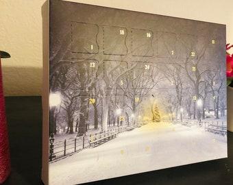 Fudge Advent calendar- 24 Day Calendar - Christmas Advent Calendar - Handmade Fudge - Festive Gift - Christmas countdown. Pre order only.