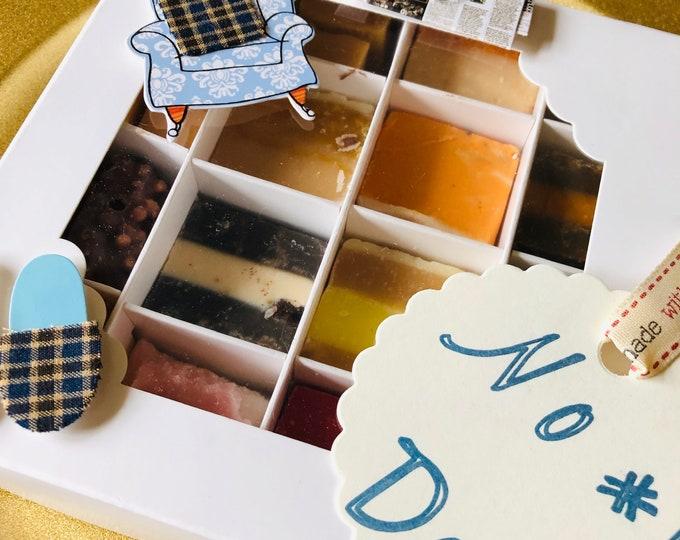 Handmade Fudge Gift Box, Dad's Birthday. Classic Retro Sweets. Flavoured Fudge Box, Sweet Box, Fizzy Sweets, Chocolate