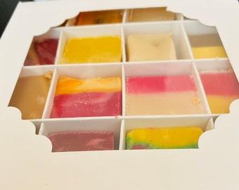 Gluten Free Handmade Fudge, Gift Box, Gluten-Free Dessert, Birthday Fudge Box, Gourmet Desserts, Sweet Food Birthday Gift, Handmade Sweets