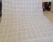 8 39 X6 39 Feet Beautiful Handmade Moroccan Wedding Handira Blanket Berber Area Bohemian Carpet 255 X 195 cm