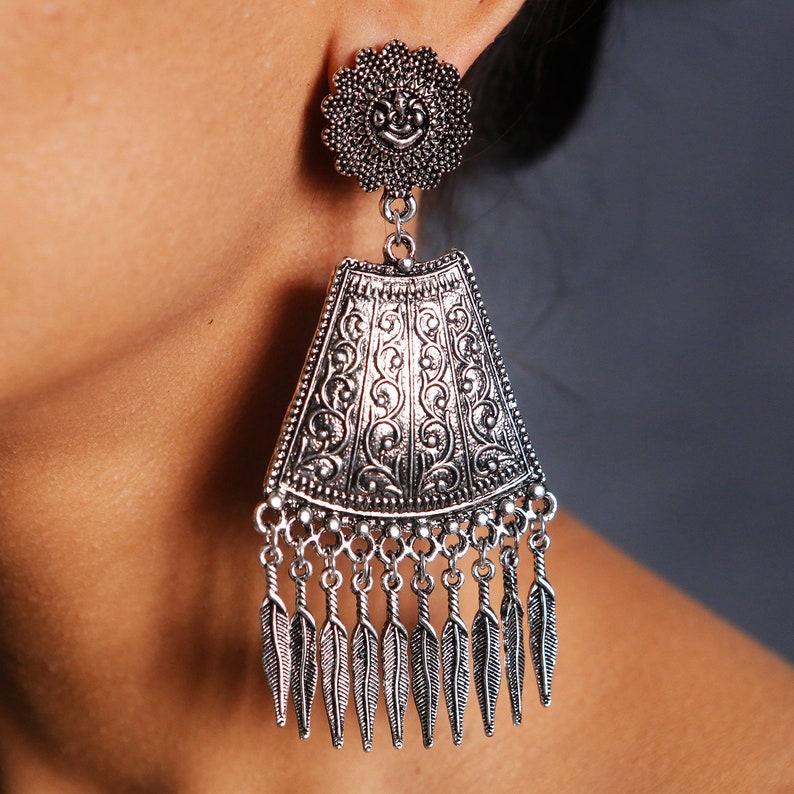Dangle Earrings Indian Jewellery Kundan Earrings Indian Jewelry Indian Earrings Ethnic Earrings Indian Wedding Gold Earrings
