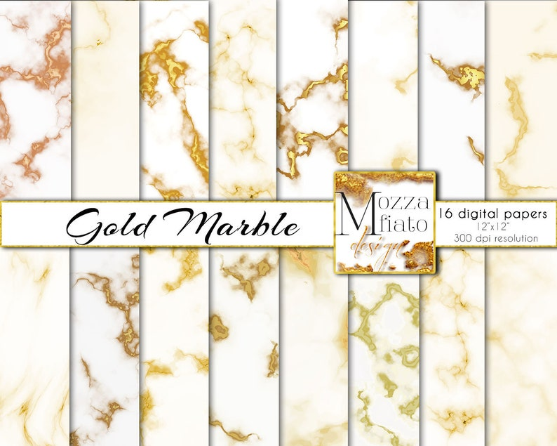 photo regarding Printable Foil Paper titled Gold Marble Electronic Paper pack. White and Gold Foil Paper image backdrop printable. Sbook paper. Electronic backgrounds Instantaneous Down load