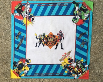 Vintage1992s Super Rescue Exceedraft Handkerchief.
