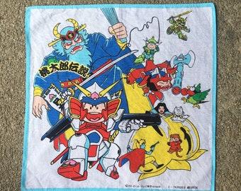 Vintage Momotaro Handkerchief