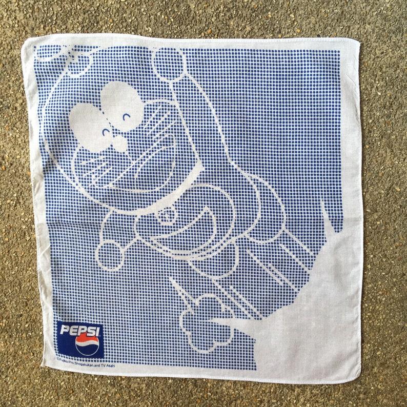 Vintage90s Doraemon Pepsi Handkerchief