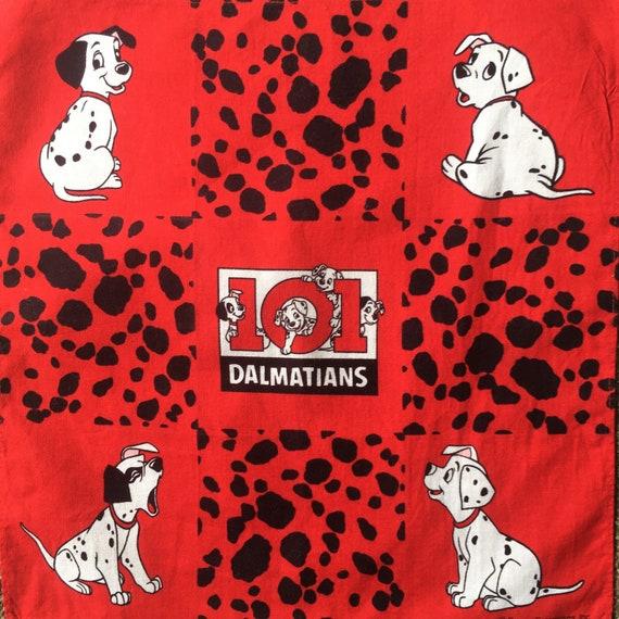 Vintage 101 Dalmatians Disney Handkerchief