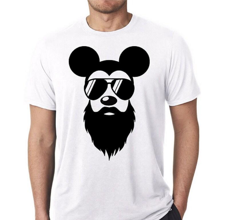 b2172f8b Mickey Mouse Shirt / Disney Shirt / Mickey Beard Shirt /   Etsy