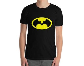 B@man Logo Short-Sleeve Unisex T-Shirt