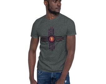 BoulTawn's Skull Zia Short-Sleeve Unisex T-Shirt