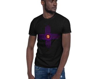 BoulTawn's Zia Dark Purple Short-Sleeve Unisex T-Shirt