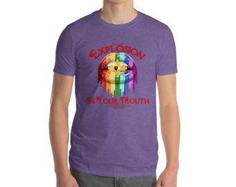"Men's ""Flavor Explosion"" Short-Sleeve T-Shirt Multiple Color Options!"