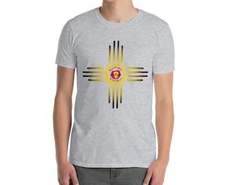 BoulTawn's Zia Yellow Short-Sleeve Unisex T-Shirt