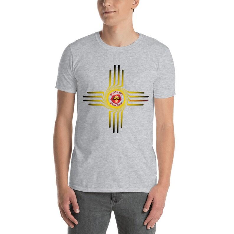 BoulTawn's Zia Yellow Short-Sleeve Unisex T-Shirt image 0