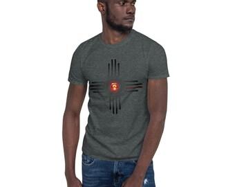 BoulTawn's Zia Charcoal Short-Sleeve Unisex T-Shirt