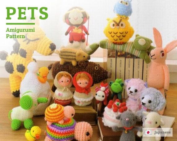 Giraffee Crochet Pattern, Amigurumi animals pattern, Japanese Pattern,  amigurumi toys pattern, PDF ebook, crochet amigurumi, diy pattern