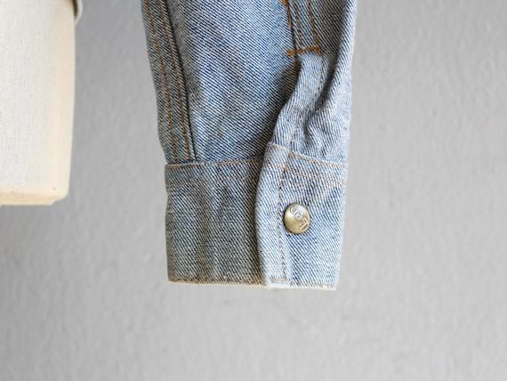 70s Lee reversible denim jacket / s - image 8