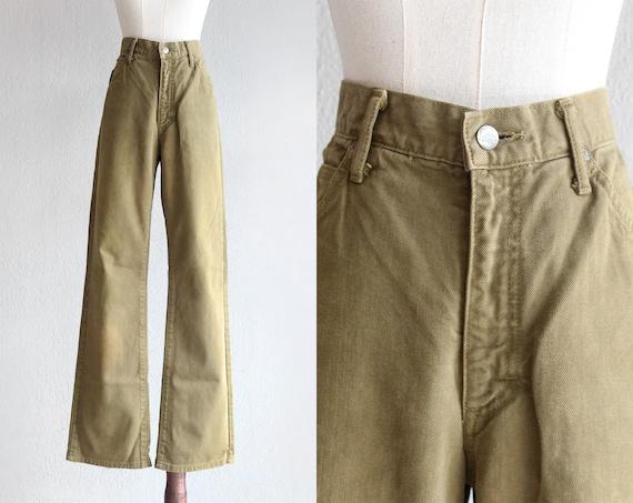 """LEE khaki bell bottom jeans / 30"""""""
