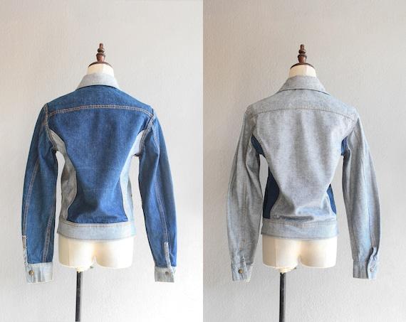 70s Lee reversible denim jacket / s - image 3