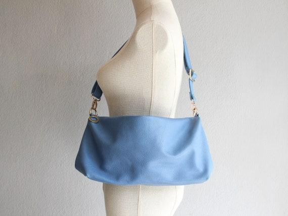 baby blue crossbody bag