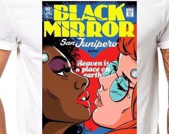 1cc65eddd Black Mirror San Junipero T-Shirt - Bandersnatch