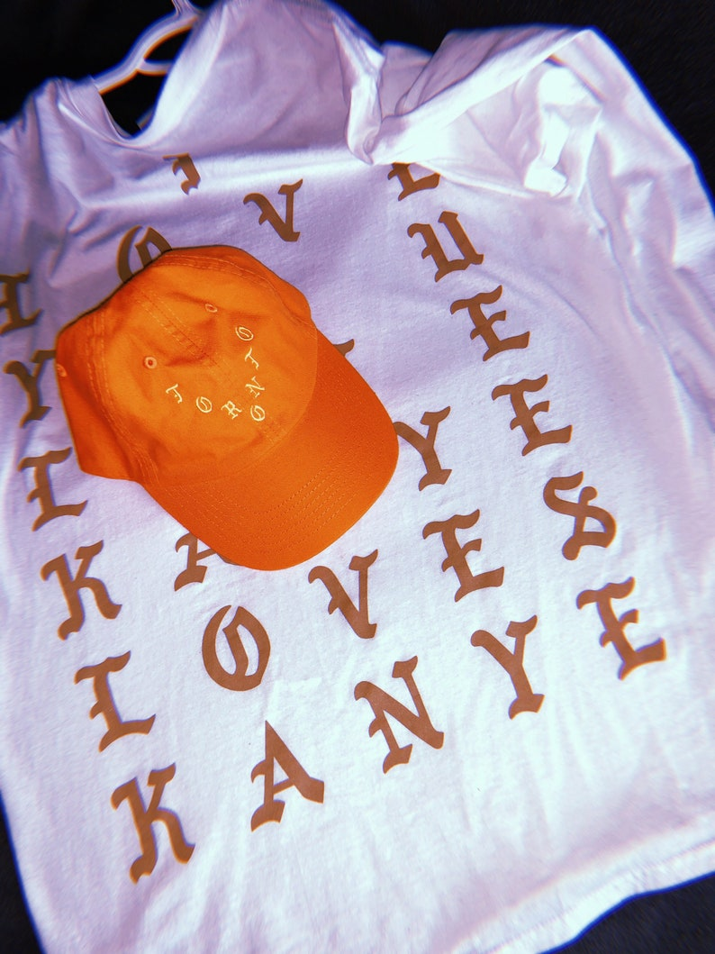 faa12e455 PABLO SUPPLY Hat Kanye Yeezy Supply Merch Orange Toronto