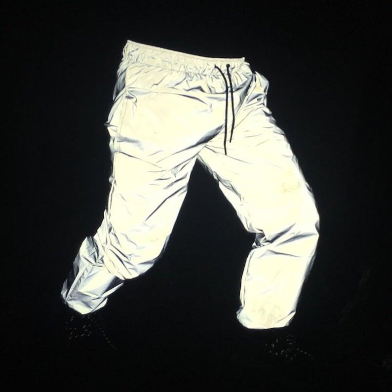 Reflective Jogger Pants 3M Reflector Streetwear Track Pant  82c1b73d541b