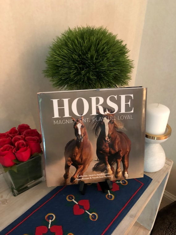Excellent Beautiful Horse Equestrian Coffee Table Book Pabps2019 Chair Design Images Pabps2019Com