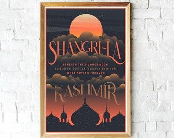 Kashmir, Led Zeppelin Poster, Classic Rock, Led Zeppelin Fan, Music Gifts, Music art, Music Posters, Led Zeppelin Art, Physical Graffiti